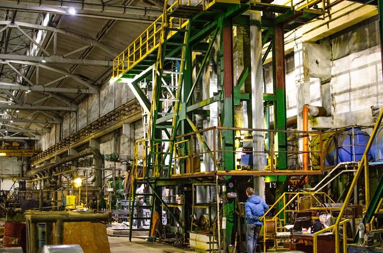 Galvanized steel coil galvanizing line