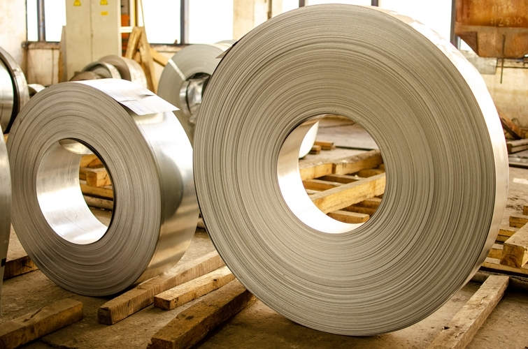 Galvanized rolled steel