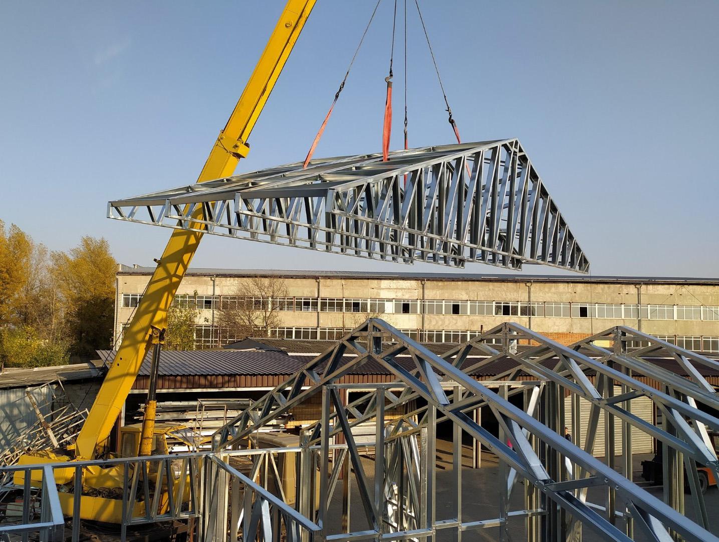 Будівництво офісної будівлі м. Бориспіль, 70 м.кв